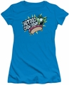 Teen Titans Go juniors t-shirt Chowdown turquoise