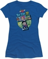 Teen Titans Go juniors t-shirt T royal blue