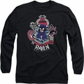 Teen Titans Go long-sleeved shirt Raven black