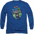 Teen Titans Go long-sleeved shirt T royal blue