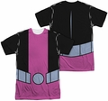 Teen Titans Go mens full sublimation t-shirt Beast Boy Uniform