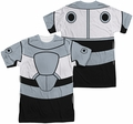 Teen Titans Go mens full sublimation t-shirt Cyborg Uniform
