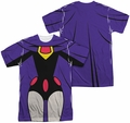 Teen Titans Go mens full sublimation t-shirt Raven Uniform