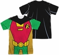 Teen Titans Go mens full sublimation t-shirt Robin Uniform