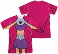 Teen Titans Go mens full sublimation t-shirt Starfire Uniform