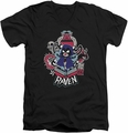 Teen Titans Go Raven mens black v-neck t-shirt