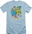 Teen Titans Go slim-fit t-shirt Go mens light blue