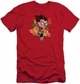 Teen Titans Go slim-fit t-shirt Robin mens red