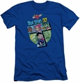 Teen Titans Go slim-fit t-shirt T mens royal blue