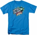 Teen Titans Go t-shirt Chowdown mens turquoise