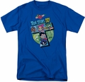 Teen Titans Go t-shirt T mens royal blue