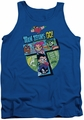 Teen Titans Go tank top T adult royal blue