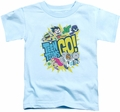 Teen Titans Go toddler t-shirt Go light blue
