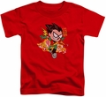 Teen Titans Go toddler t-shirt Robin red
