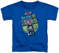 Teen Titans Go toddler t-shirt T royal blue