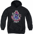 Teen Titans Go youth teen hoodie Raven black