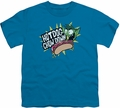 Teen Titans Go youth teen t-shirt Chowdown turquoise