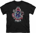 Teen Titans Go youth teen t-shirt Raven black