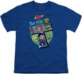 Teen Titans Go youth teen t-shirt T royal blue