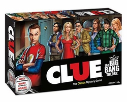 The Big Bang Theory Clue game