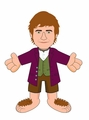 The Hobbit Bilbo Baggins 10-Inch Plush pre-order