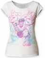 The Incredible Hulk Charging juniors cut tee vintage white womens pre-order