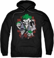 The Joker pull-over hoodie Four Of A Kind adult black