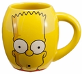 The Simpsons 18 oz Ceramic Oval Mug