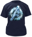 Thor assemble adult tee navy t-shirt