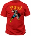 Thor t-shirt war hammer mens red pre-order