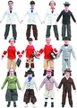 Three Stooges Retro 8-Inch Action Figure Asst pre-order