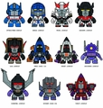 Tls X Transformers Mini Figure 16-Piece Blind Mystery Box Display Series 02 pre-order