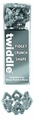 Twiddle Stress Relief Toy Silver pre-order