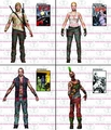 Walking Dead Comic Series 3 Action Figure set of 4 pre-order