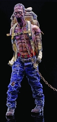 Walking Dead Pet Zombie 1/6 scale figure Red Version pre-order