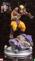 Wolverine Brown Costume Danger Room Sessions Fine Art Statue pre-order