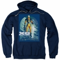 X-O Manowar pull-over hoodie Planet Death adult navy