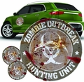Zombie Hunting Unit Grey Logo Decal Set pre-order