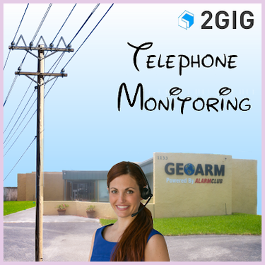 2GIG Phone Line Alarm Monitoring Service