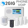 2GIG VoIP & Phone Line Wireless Security System