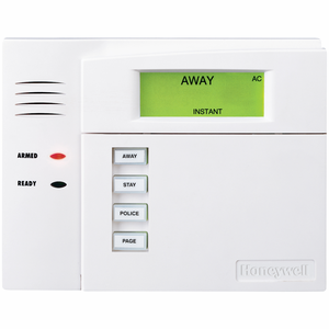 6150RF - Honeywell Fixed English Alarm Keypad & Integrated Unlimited-Zone Wireless Receiver
