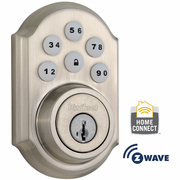 99100-005 - Kwikset Z-Wave SmartCode Wireless Deadbolt (Satin Nickel)