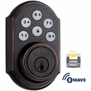 99100-006 - Kwikset Z-Wave SmartCode Wireless Deadbolt (Venetian Bronze)