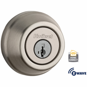 99100-062 - Kwikset Z-Wave SmartCode Wireless Signature-Series Deadbolt (Satin Nickel)