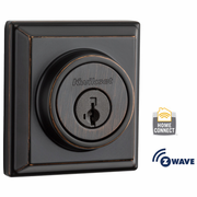99100-065 - Kwikset Z-Wave SmartCode Wireless Signature-Series Deadbolt (Venetian Bronze)