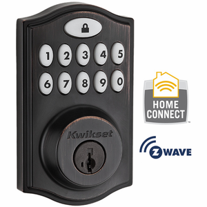 99140-003 - Kwikset Z-Wave Wireless Deadbolt (Venetian Bronze)