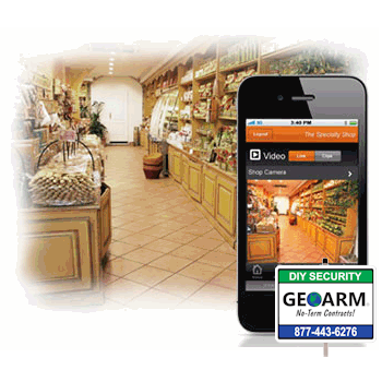 Alarm.com DIY Commercial Alarm Monitoring Services