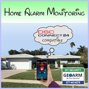 C24 Cellular Interactive Home Alarm Monitoring Services
