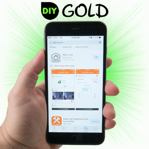 DIY GE Cellular Gold Interactive Alarm Monitoring Services