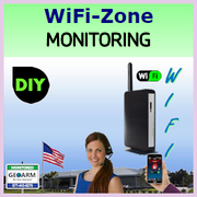 Do-It-Yourself WiFi Alarm Monitoring